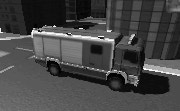 3D Firefighter Truck Parking