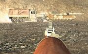 Golpe de guerra de artilharia de bazuca