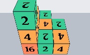 Cubiks 2048