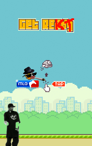 MLG Flappy Bird 420