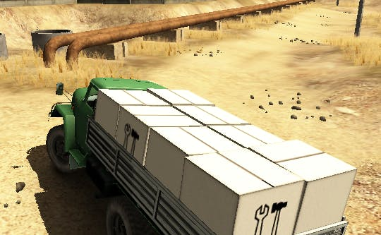 game online gratis Truck Driver Crazy Road 2